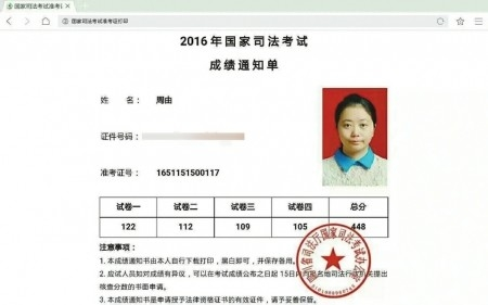 32岁妈妈哺乳期零基础荣获四川省司考状元