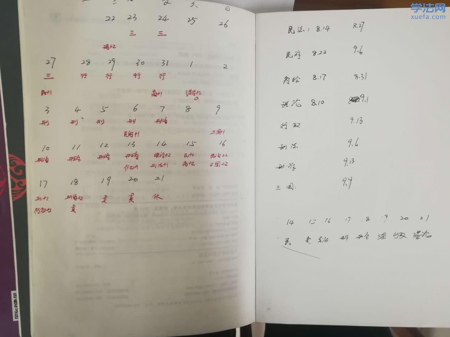 法考229+124,我的10条经验